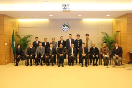 APAGS Visit to Policy Research Office, Macao SAR Government