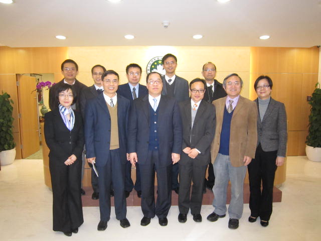 APAGS Visit Secretary for Economy and Finance of the Macao SAR Government